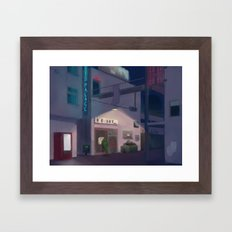 Lone Guard Framed Art Print