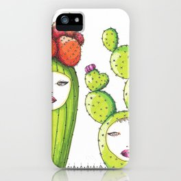 Succulent Ladies iPhone Case