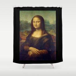 Leonardo da Vinci -Mona lisa - Shower Curtain
