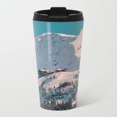 Mt. Alyeska Ski Resort - Alaska Metal Travel Mug