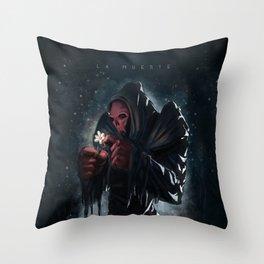 The Death - La Muerte Throw Pillow