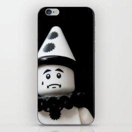 The Sad Sad Clown iPhone Skin