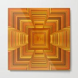 Amber Room Metal Print