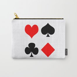poker card figures Carry-All Pouch
