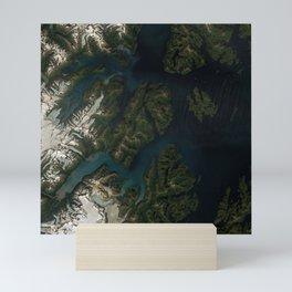 Kings Bay, Prince William Sound, Alaska Mini Art Print