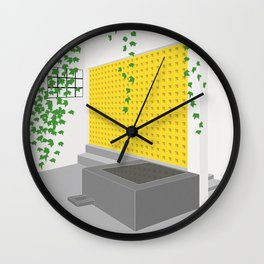 Capilla de las Capuchinas - Luis Barragán. Wall Clock