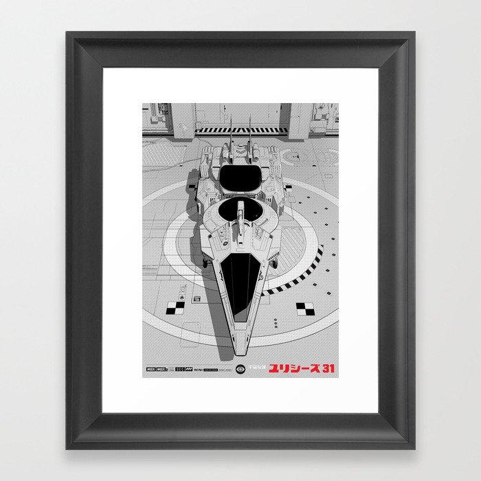 Ulysses 31 (alternate version) Framed Art Print