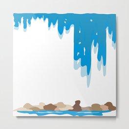 Waterfall by FreddiJr Metal Print