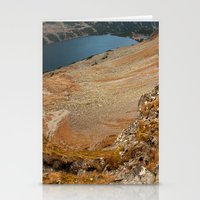 hiking Stationery Cards featuring Mountain hiking by Mariana's ART