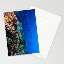 Coral Sea Print Stationery Cards