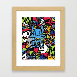 Beast Coast Dyes  Framed Art Print