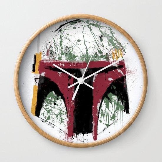 Boba Wall Clock