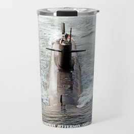 USS THOMAS JEFFERSON (SSBN-618) Travel Mug