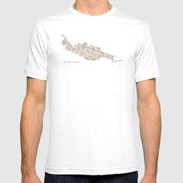 Telluride Colorado Map T-shirt