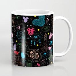 Tasting the Magic - Black Coffee Mug