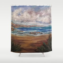 Rough Coast AC181119b Shower Curtain