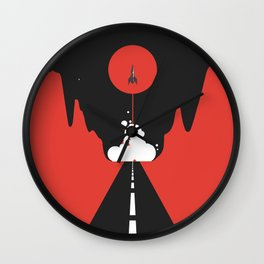 Valley Launch Wall Clock