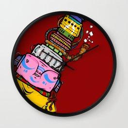 Machinehead Wall Clock