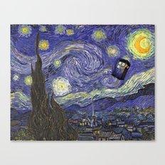 Vincent Travels Canvas Print