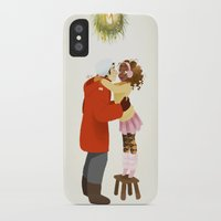 xmas iPhone & iPod Cases featuring Xmas  by Martina Zambelli