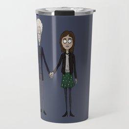 Twelfth & Clara (Burton style) Travel Mug