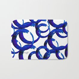 Enso Of Zen No. 21 by Kathy Morton Stanion Bath Mat