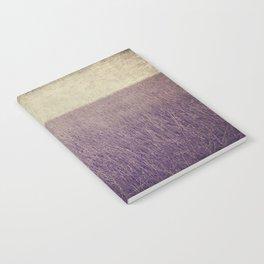Purple field Notebook