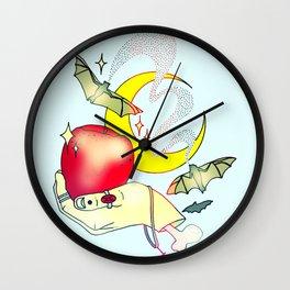 Apples & Bananas Wall Clock