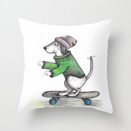 Lovin' Skatelife Throw Pillow