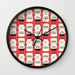 Yakurutu Bois Wall Clock