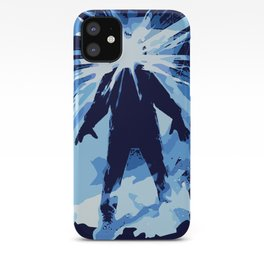 Man is the warmest place to hide ... iPhone Case