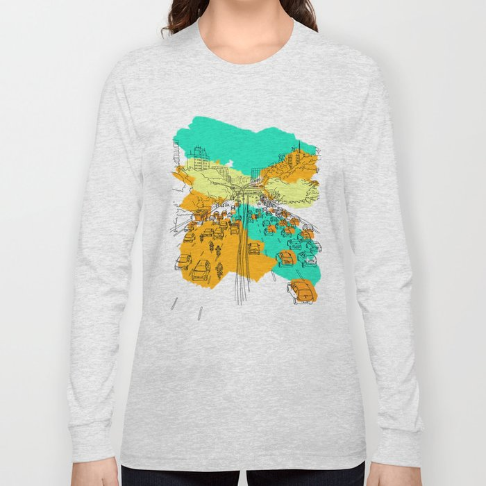 big city Long Sleeve T-shirt