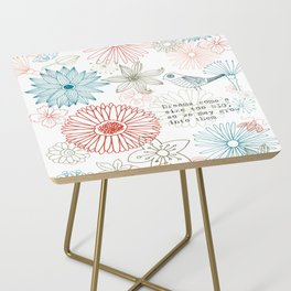 Floral dreams Side Table