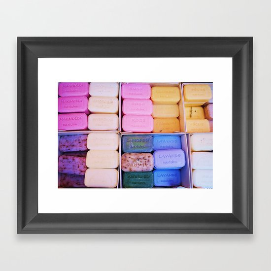 Wash Your Eyes Out With Soap Framed Art Print