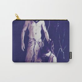 Welcome to Silent Hill - Pyramid Head v2, sexy erotic nude, cartoon in purple tones, submissive girl Carry-All Pouch
