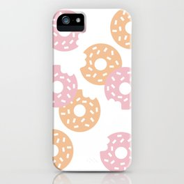 Sprinkled Donuts iPhone Case