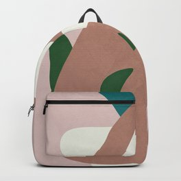 Abstract Minimal Shapes Backpack