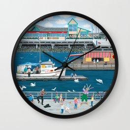 Steveston Landing Wall Clock
