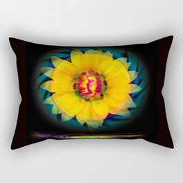 Sunflower Love Rectangular Pillow