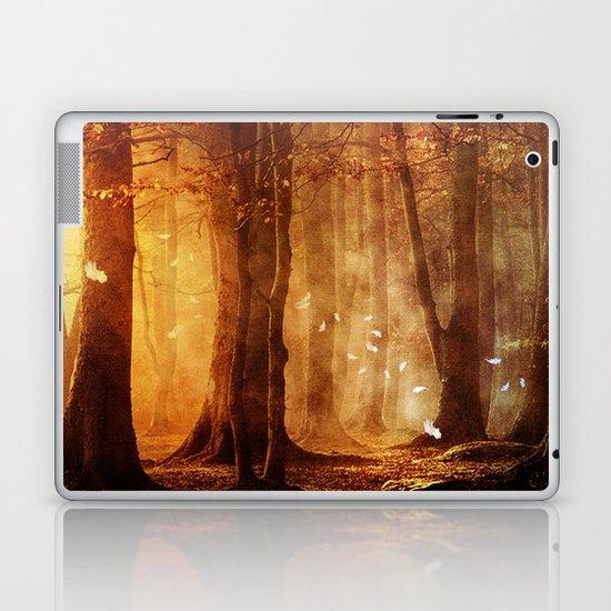 In the woods. Laptop & iPad Skin
