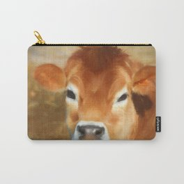 Adorable Cow Face Carry-All Pouch