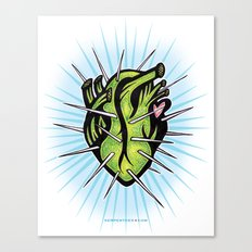 Corazon de Nopal // Dia Canvas Print