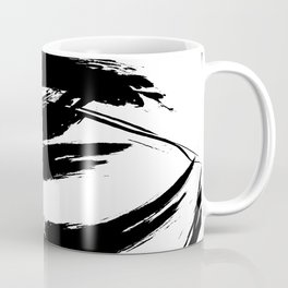 Foundry Abstract Brush Strokes 1 Coffee Mug