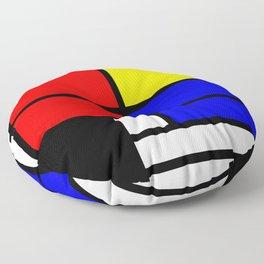 Mondrianista Floor Pillow