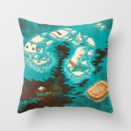 Malaysian Mystery Throw Pillow