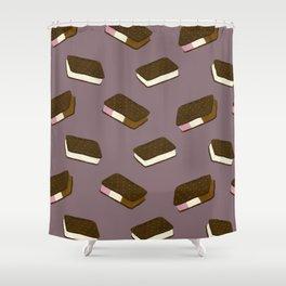 Ice Cream Sandwiches Shower Curtain