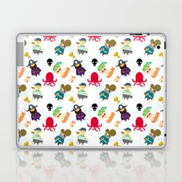 the crew (pattern version) Laptop & iPad Skin