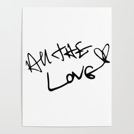 Harry Styles - All the Love Poster