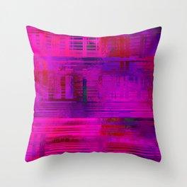 SchematicPrismatic 11 Throw Pillow