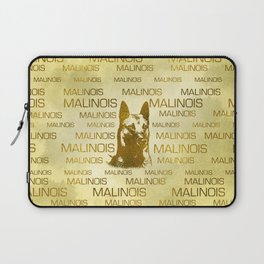 Golden Belgian Malinois - Mechelaar  - Maligator Laptop Sleeve